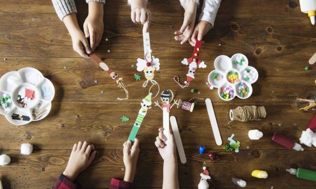 Retour au calme des enfants avec les loisirs créatifs